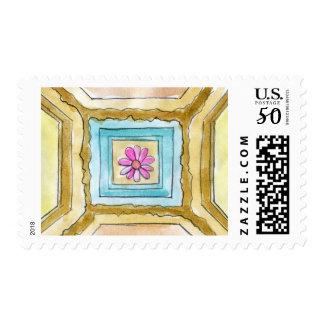 Rosette Detail Postage