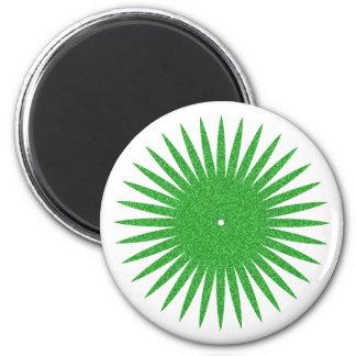 rosette green green magnet