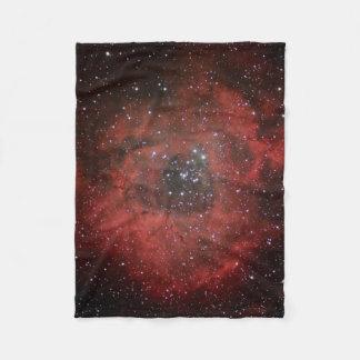 Rosette Nebula #1 Fleece Blanket