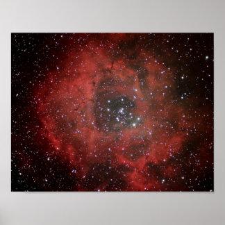 Rosette Nebula #1 Poster