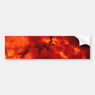 Rosette Nebula Bumper Sticker