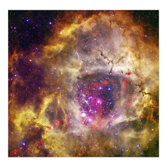 Rosette Nebula Caldwell 49 The Heart of a Rose Photo Print
