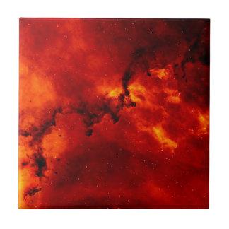 Rosette Nebula Ceramic Tile
