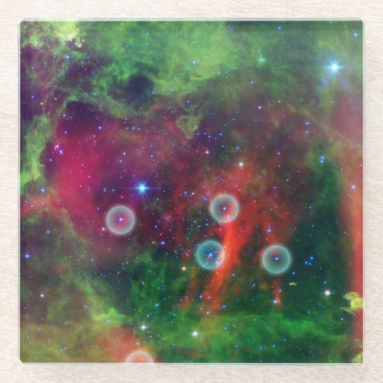 Rosette Nebula Coaster