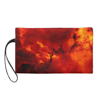 Rosette Nebula Photo Wristlet Clutch
