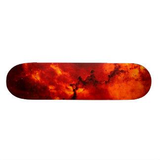 Rosette Nebula Photo Custom Skate Board