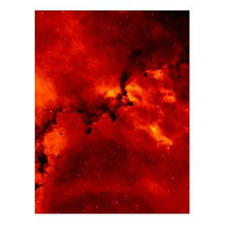Rosette Nebula Photo Postcard