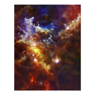 Rosette Nebula s Stellar Nursery Custom Announcement