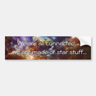 Rosette Nebula's Stellar Nursery Bumper Sticker