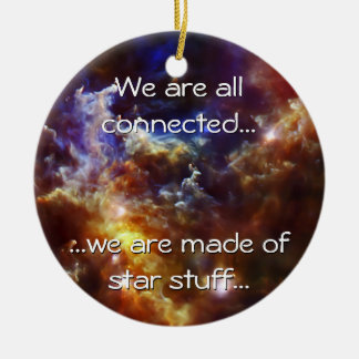 Rosette Nebula's Stellar Nursery Ceramic Ornament