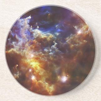 Rosette Nebula's Stellar Nursery Drink Coaster
