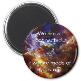 Rosette Nebula's Stellar Nursery Refrigerator Magnets