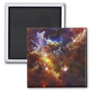 Rosette Nebula's Stellar Nursery Fridge Magnets