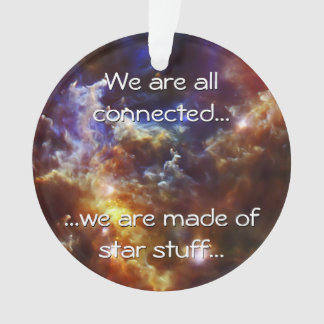 Rosette Nebula's Stellar Nursery Ornament