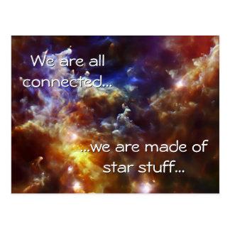 Rosette Nebula's Stellar Nursery Postcard