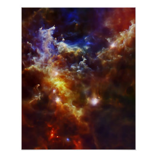 Rosette Nebula's Stellar Nursery Print