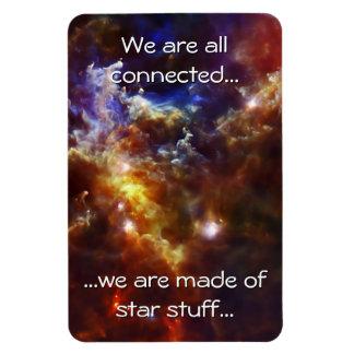 Rosette Nebula's Stellar Nursery Flexible Magnet
