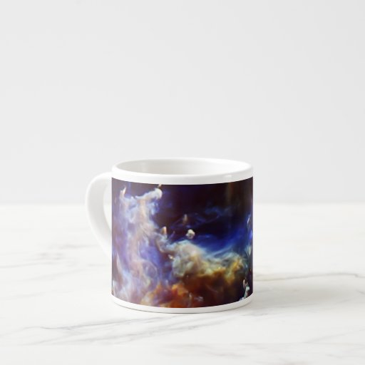 Rosette Nebula's Stellar Nursery Espresso Mug