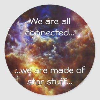 Rosette Nebula's Stellar Nursery Stickers