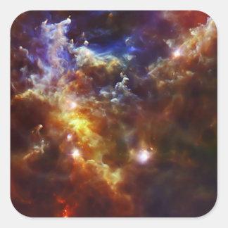 Rosette Nebula's Stellar Nursery Square Sticker