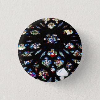 Rosette of Notre-Dame, Paris Pinback Button