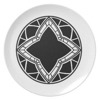 Rosette Dinner Plate