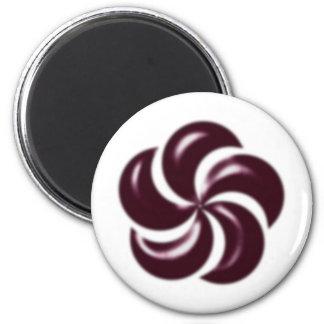 rosette rose magnet