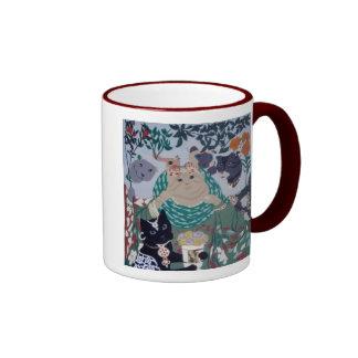 rosetti's beloved cats mug