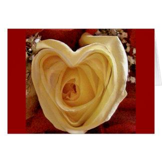 rosevalentine card