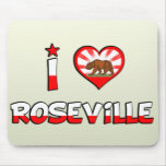 Roseville, CA Mouse Pad