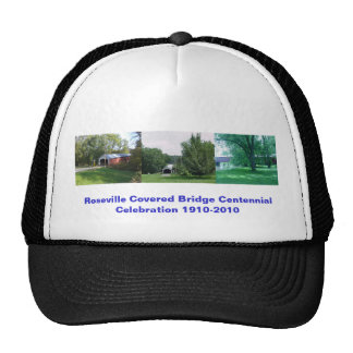 Roseville Covered Bridge Centennial Celebration Trucker Hat