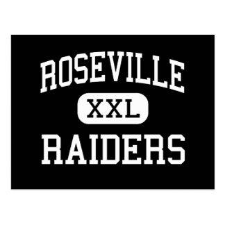 Roseville - Raiders - Area - Roseville Minnesota Postcard