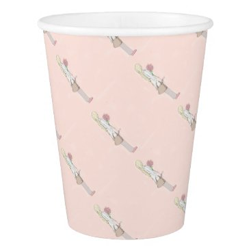 Beach Themed Rosevine Cottage Party Supplies Paper Cup