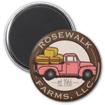 RoseWalk Farms, LLC Magnet
