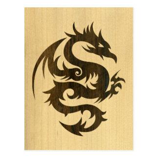 Rosewood Dragon Postcard