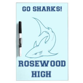 Rosewood Swim Team Scoreboard Dry-Erase Whiteboards