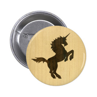 Rosewood Unicorn Buttons