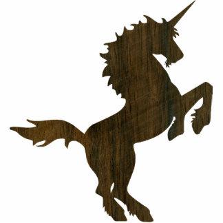 Rosewood Unicorn Statuette