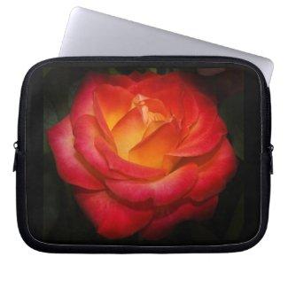 Rosey 10 Laptop Sleeve fuji_electronicsbag