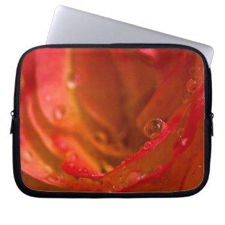 Rosey 13 Laptop Sleeve fuji_electronicsbag