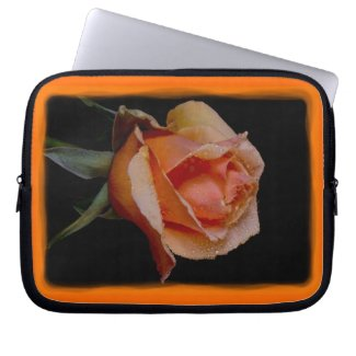 Rosey 14 Laptop Sleeve fuji_electronicsbag