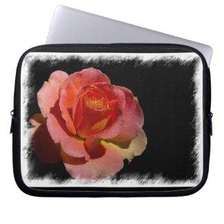 Rosey 4 Laptop Sleeve fuji_electronicsbag