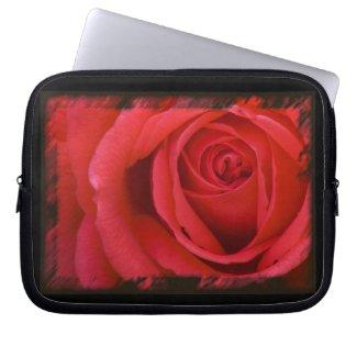 Rosey 5 Laptop Sleeve fuji_electronicsbag