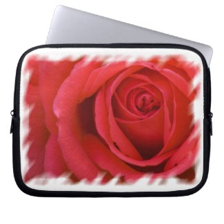 Rosey 6 Laptop Sleeve fuji_electronicsbag