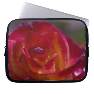 Rosey 8 Laptop Sleeve fuji_electronicsbag