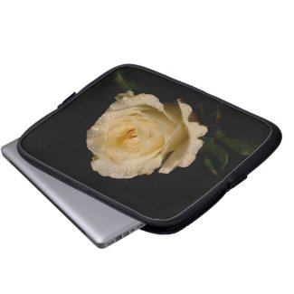Rosey 9 Laptop Sleeve fuji_electronicsbag