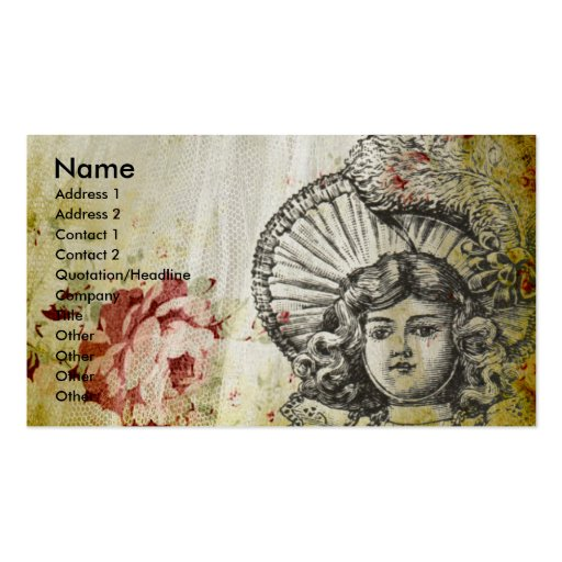 Rosey Dolly Business Cards