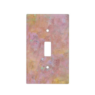 Rosey Glow - Light Switch Cover