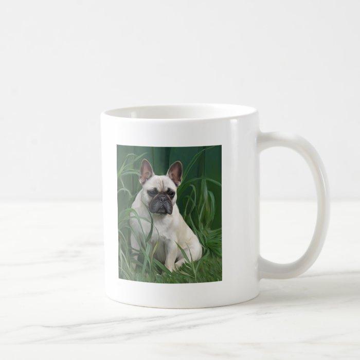 Rosey in the grass coffee mug