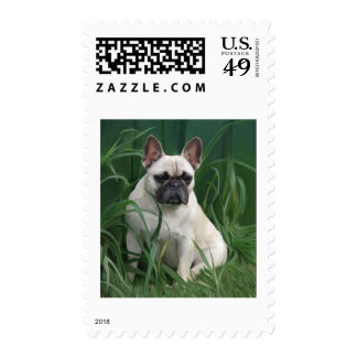 Rosey in the grass postage stamps